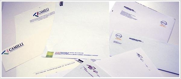 Cartas y sobres para Empresas
