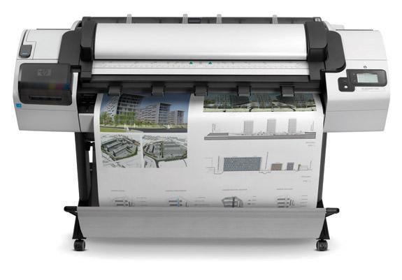 Impresión y escaneado de planos