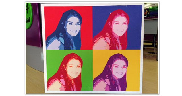 Diseño Warhol